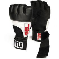 Гелевые перчатки TITLE быстрые бинты gel world fist wrap (TGWG, черно-белые)